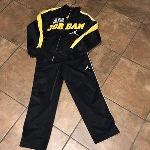 NWOT Boy's Jordan Jog Set